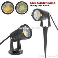 10 pcs/lot New COB Led Lawn Light 3W AC 12V Garden Spot Light Spike Landscape LED IP65 Outdoor lamp ColdWhite/Warm white
