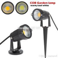 10 pcs/lot New COB Led Lawn Light 3W AC 12V Garden Spot Light Spike Landscape LED IP65 Outdoor lamp ColdWhite/Warm white