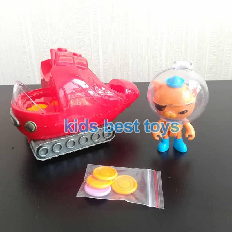 Octonauts игрушечные лошадки подводные лодки GUP-A лодки корабль с фигурами капитан шторки Kwazi Детские подарок на Новый год