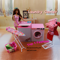 Новое поступление подарки для девочек игра игрушка кукла дом Прачечная центр мебель для BJD Simba Lica Monster High куклы Барби дом