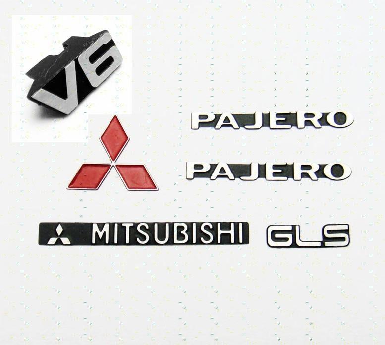Metal PAJERO LOGO SET For Tamiya CC01 tamiya tt 01 sc430