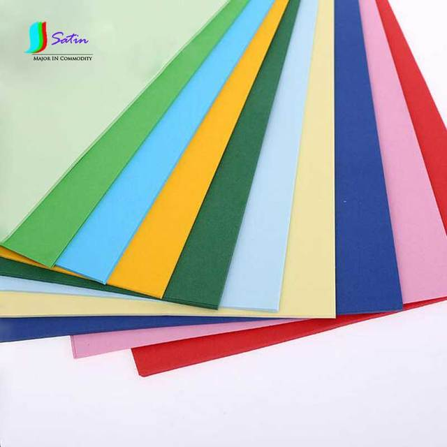 aliexpress com buy mixed color hard cardboard scrapbook photo
