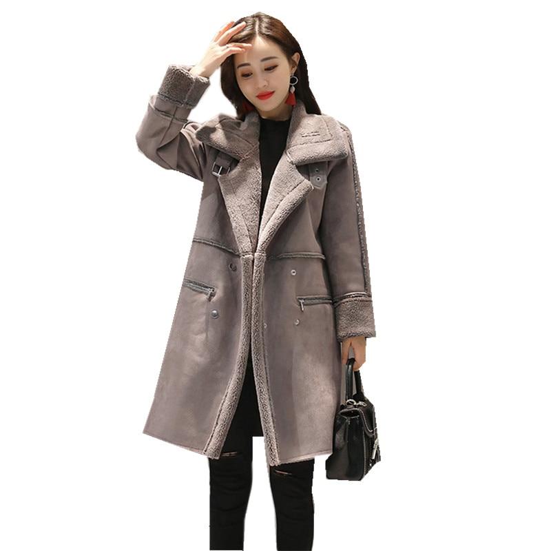 outwear femme solide rose automne double parka hiver rh1093 veste longue manteaux femmes chaud. Black Bedroom Furniture Sets. Home Design Ideas