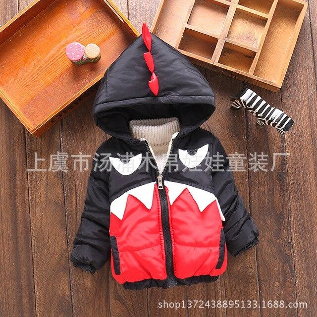 Новый Осенне-зимние куртки для мальчика пальто куртка мода мальчика ветровка зимние куртки Детская куртка