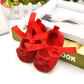 Solid Bowknot PU Baby Girl Shoes Newborn Infant Soft Bottom No-slip Boots Toddler First Walkers D37