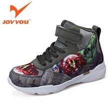 JOYYOU Brand Kids Shoes X-Man Hero Boy Girls School Sneakers Children Teenage Footwear Baby For child Fashion Shoes Hook Casual
