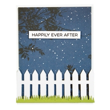 Home Fence Grass Metal Cutting Dies Stencils For DIY Scrapbooking Decorative Embossing Suit Paper Cards Die Template