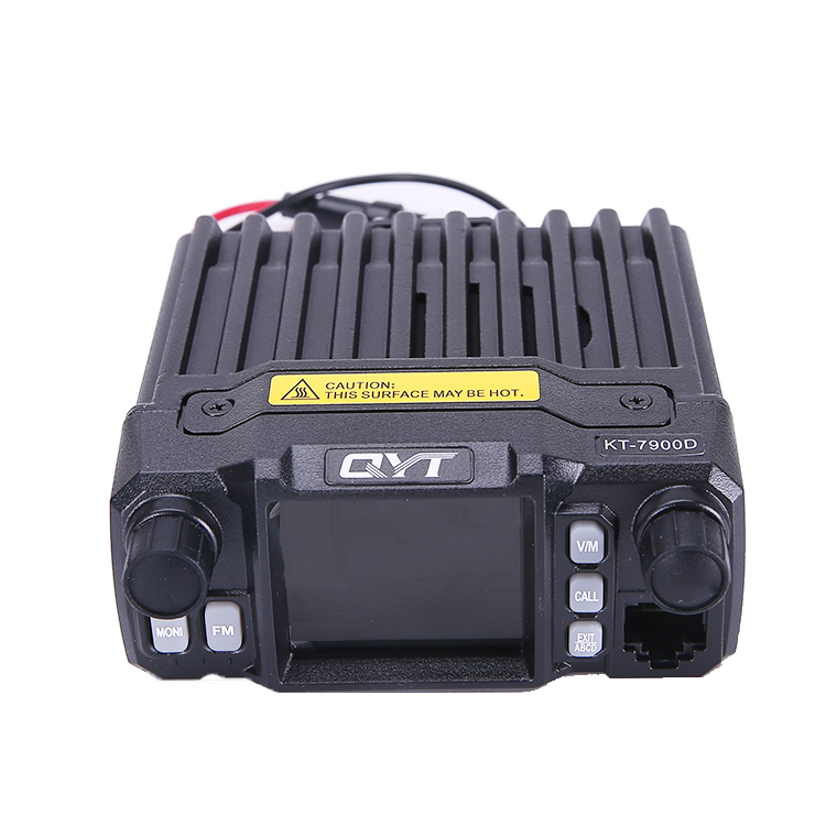QYT KT-<font><b>7900D</b></font> 25W Mini Car mobile two way radio base radio vehicle mounted Walkie Talkie Car 4 Bands Quad Band Quad standby image