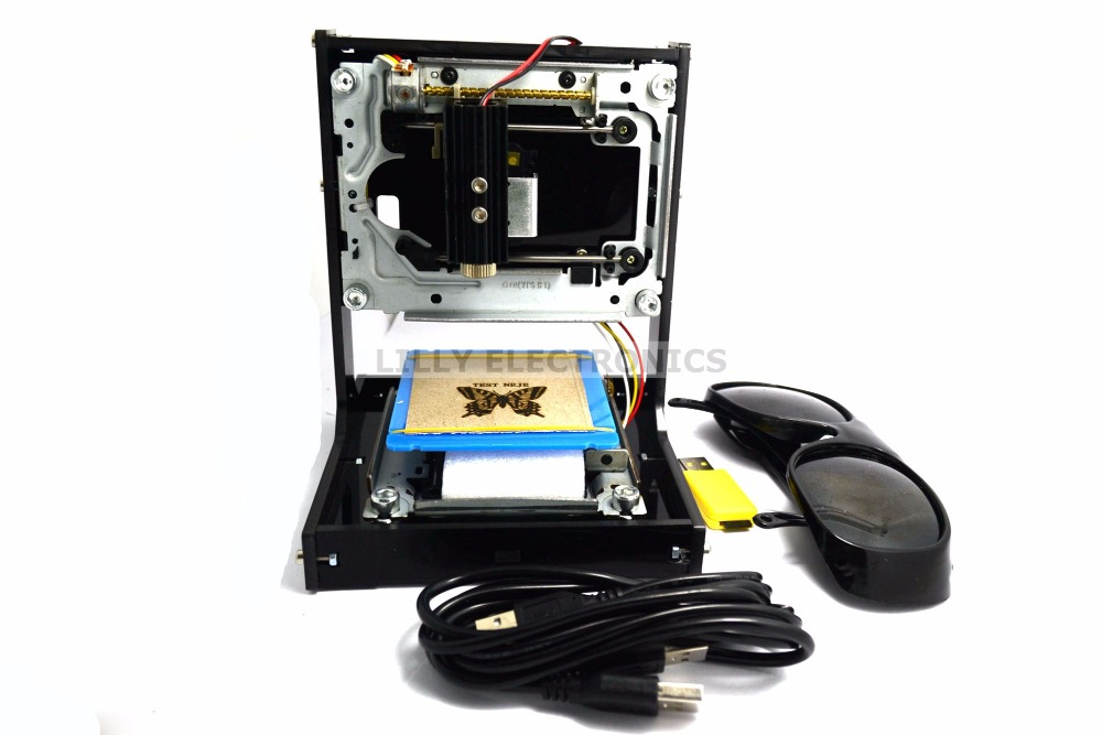 Q-BAIHE New 500mW DIY Laser Engraver USB Carving Printer Machine Box High Power Speedy Laser Engraver Machine Black отсутствует sandra вышивка 08 2012