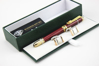 JINHAO Red Luxurious Business 0 7MM Nib Rollerball Pen New Office Business School Writing Pen And