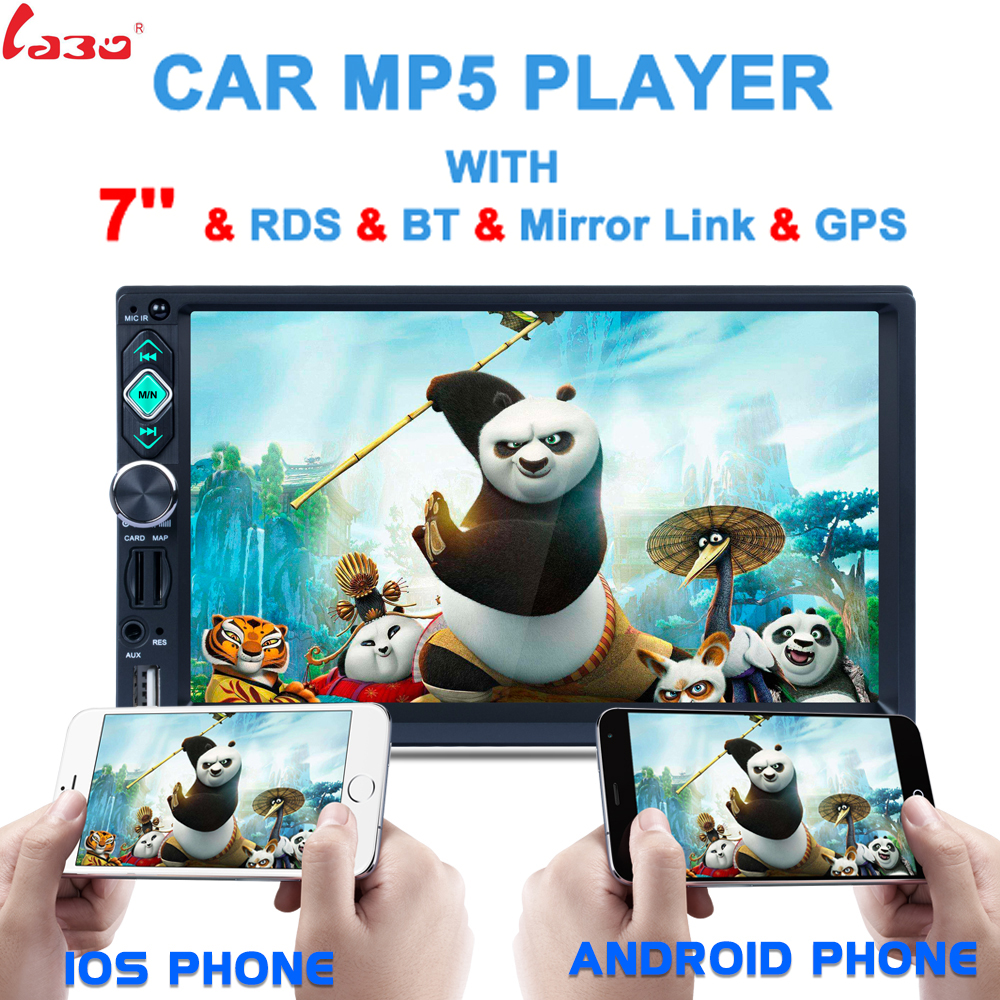 Hot Reverse Camera+GPS map 72 Din Car GPS Navigation Stereo DVD Player Bluetooth iPod Radio FM AM Receiver MP3 Indash Head Unit joyous j 2611mx 7 touch screen double din car dvd player w gps ipod bluetooth fm am radio rds