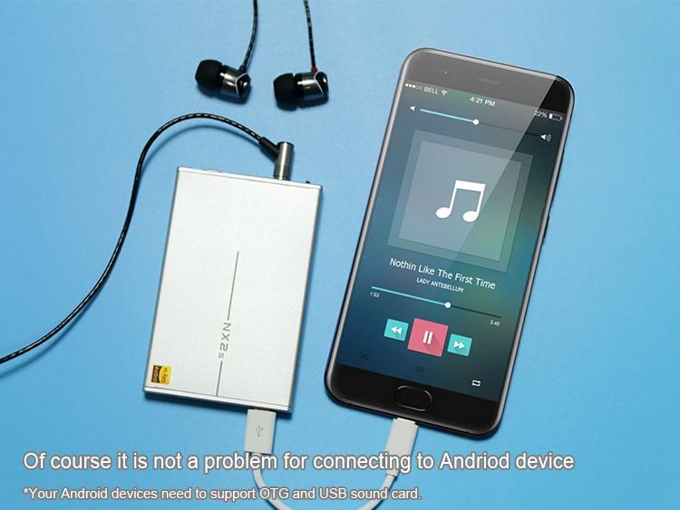 TOPPING NX2S MINI HIFI USB DAC OPA1652 LMH6643 SA9226 32Bit Portable Audio Headphone Amplifier Available OTG
