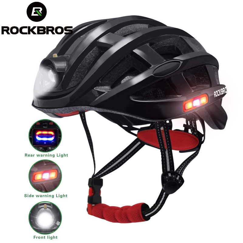 ROCKBROS Light Cycling Helmet Bike Ultralight Helmet Integrally molded Mountain Road Bicycle MTB Helmets Safe Men