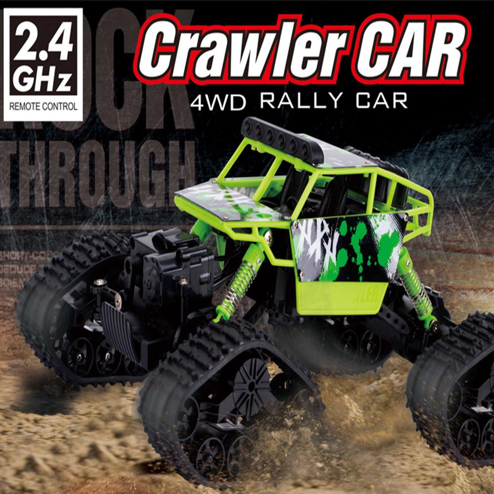 Image 3 - 4WD 2.4Ghz Remote Control Car Snowfield Rock Crawler Car-in RC Cars from Toys & Hobbies