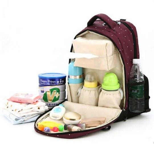 Promotion! Sac à dos bébé sacs pour maman couche sac à dos pour voyage bebe momie sac nappy sacs à dos bebe multifonctionnel