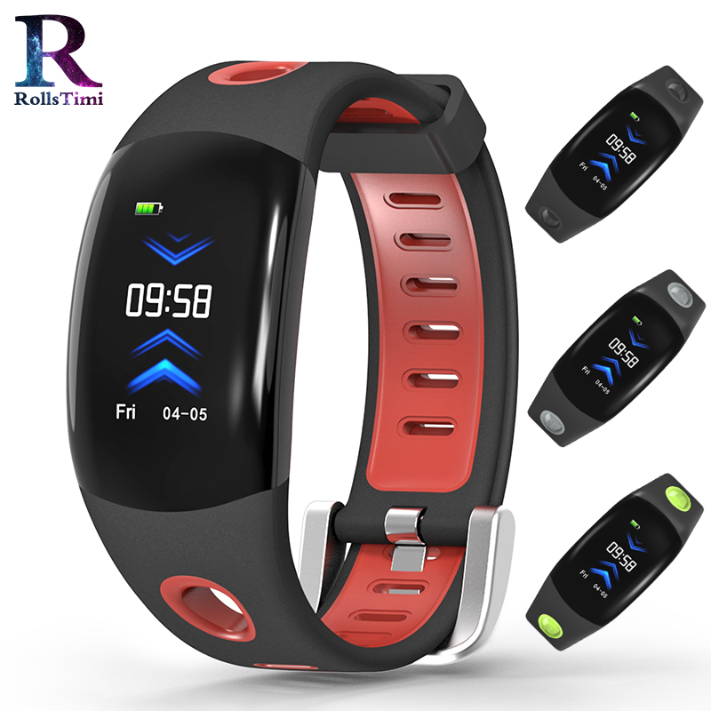 RollsTimi Smart Wristband Sleep Tracker Heart Rate Monitor Pedometer waterproof smart watch men luxury sports Smart Bracelet Men цены онлайн