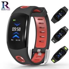 RollsTimi Smart Wristband Sleep Tracker Heart Rate Monitor Pedometer waterproof smart watch men luxury sports Smart Bracelet Men цена и фото