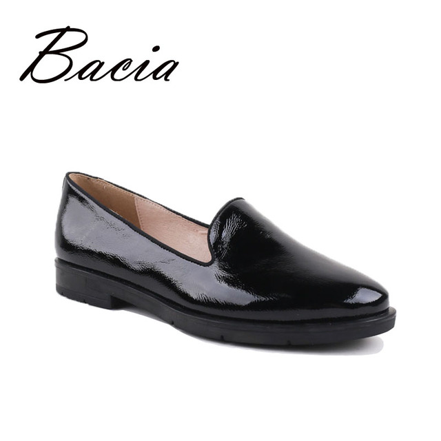 Bacia Brief Style Loafers Women Fashion Leather Flat Shoes Spring Summer Handmade Soft Flats High Quality Casual Shoes VC016