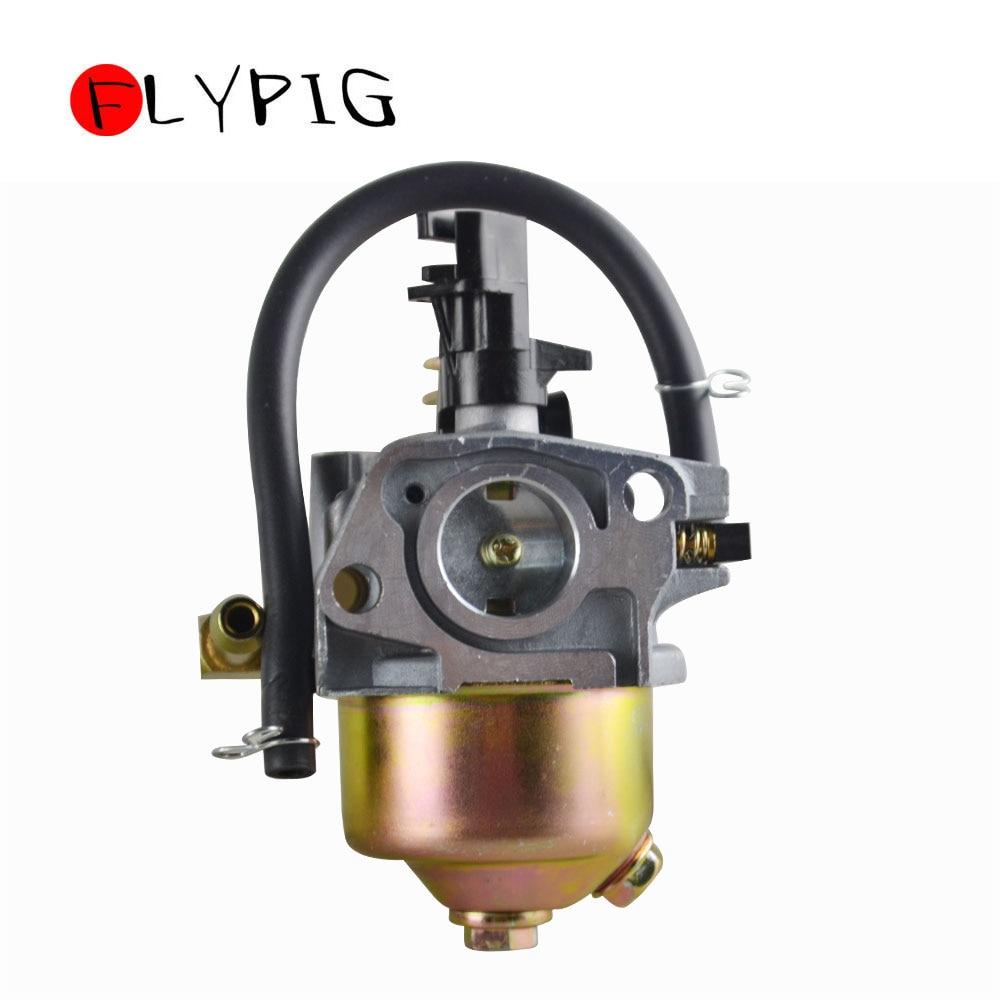 Snowblower Carburetor For HUAYI 170S 170SA 165S 165SA With Gasket & Primer Bulb