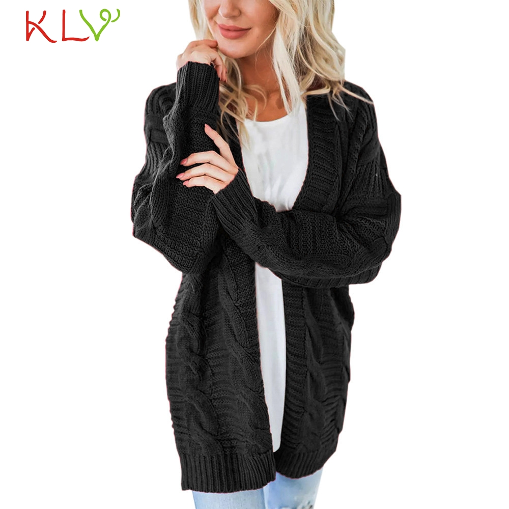 Painstaking Women Jacket Winter Long Sweater 2018 Casual Parka Cardigan Plus Size Ladies Chamarra Cazadora Mujer Coat For Girls 18oct23 Sweaters Cardigans