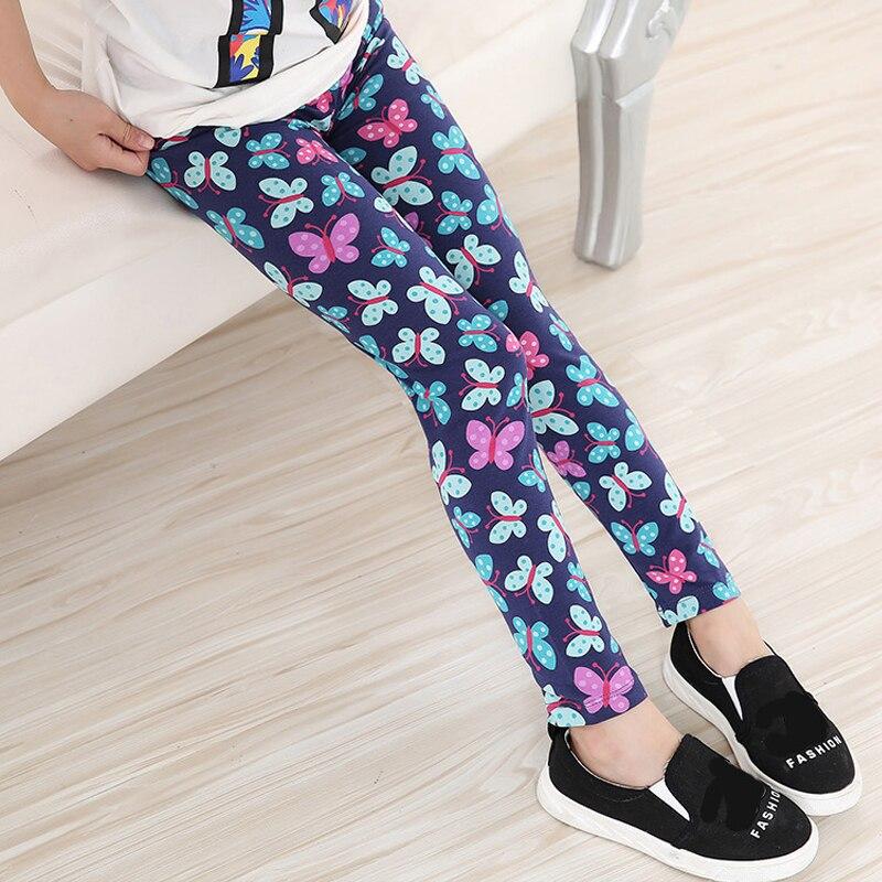 Multi-Color-Girl-Pant-Printing-Flower-children-pants-Spring-Autumn-kids-leggings-skinny-girls-leggings-Kids-Clothing-3