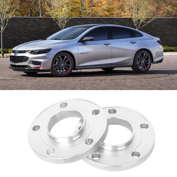 2PCS 5x115 70.3CB Aluminum Centric Wheel Spacers Tire Adapters Rims Flange Hubs For Chevrolet Malibu 2016-2017