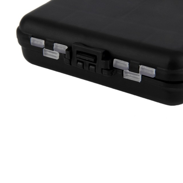 New Arrival Waterproof Fishing Lure Tackle Hook Bait Storage Box Case 16 Compartments free shipping