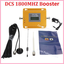 ZQTMAX 2G 4G Mobile Signal Booster LTE 1800 Repeater cell phone Cellular Amplifier with Antenna