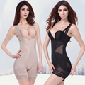 M-3xl fortalecer body shaper bambu cintura sliming underwear mulheres bodysuit shapewear girdles corsets plus size