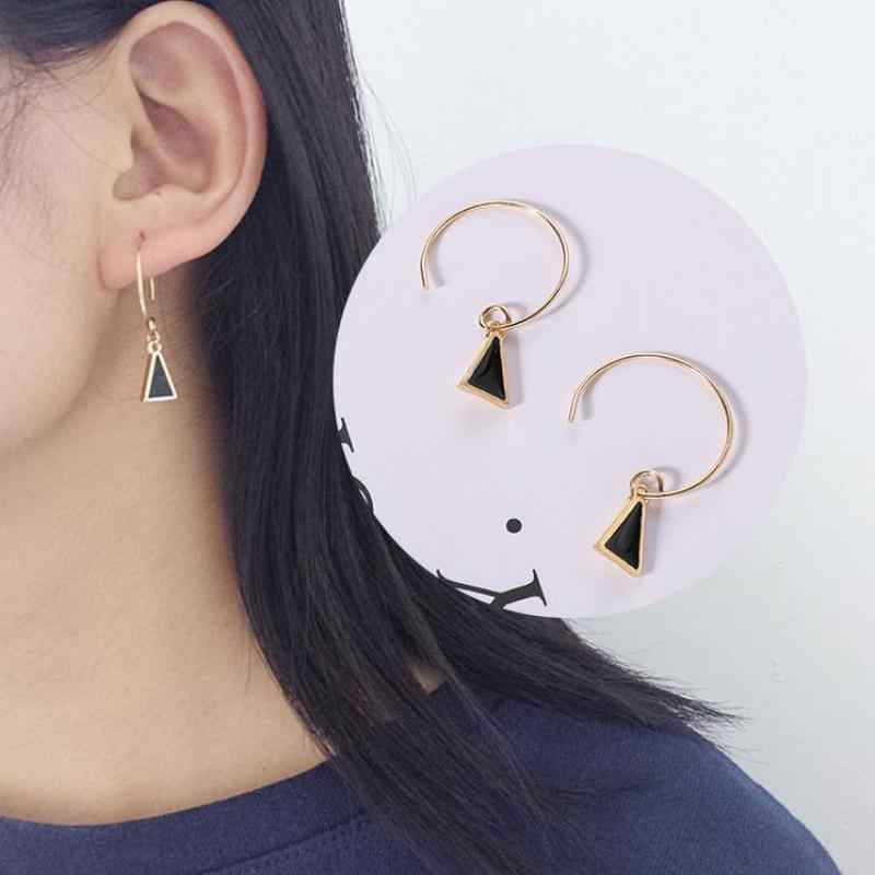 Boucles D'oreilles Pour Les Femmes New Simple Geometric Triangle Earrings Small Personality Earrings Women Birthday Gift Jewelry