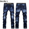 Beswlz New Arrival Men Jeans Pants Casual Fashion Classical Denim Jeans Men Slim Male Jeans 6128