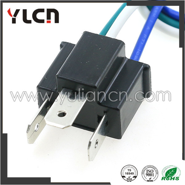 3 pin h4 auto wire harness connector holder plug 7 8mm lamp plug in3 pin h4 auto wire harness connector holder plug 7 8mm lamp plug