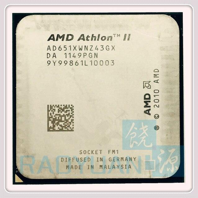 AMD Athlon X4 651 X4 651K X4 651X X4-651 3.0GHz 100W Quad-Core CPU Processor AD651KWN43GX AD651XWNZ43GX Socket FM1/905pin