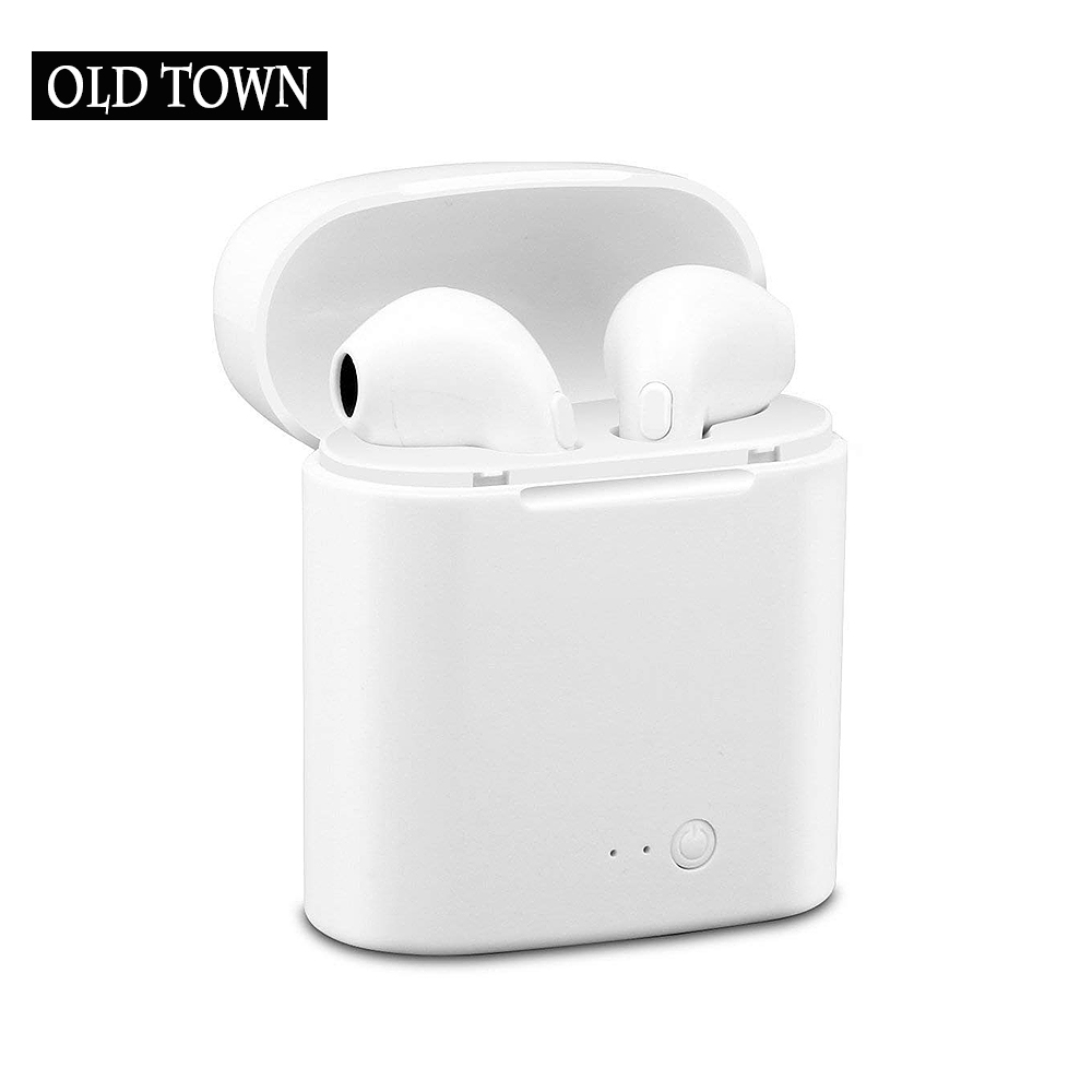 I7S TWS Earbuds In Ears Wireless Bluetooth Double Earphone Twins Stereo Music Headset for Apple IPhone X 8 8S Samsung LG Android