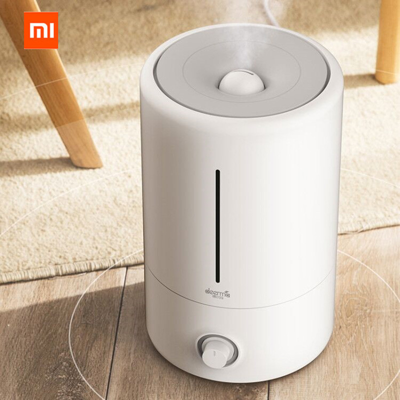 Image 2 - Original Xiaomi Mijia Deerma 5L Air Humidifier Touch Version 35db Quiet Air Purifying for Air conditioned Rooms Office household-in Smart Remote Control from Consumer Electronics