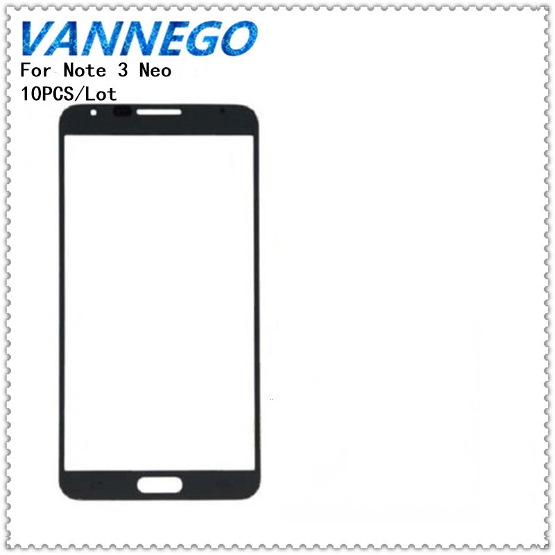 Vannego 10Pcs/Lot Touch Screen For Samsung Galaxy Note3 Note 3 Neo N750 N7505 Front Glass Touch Screen Outer Panel Repair Part