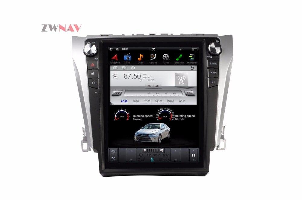 ZWNVA Тесла Стиль ips Экран Android 6,0 Оперативная память 2 ГБ Встроенная память 64 ГБ автомобиля радио gps навигации для TOYOTA Camry 2015 2016 2017