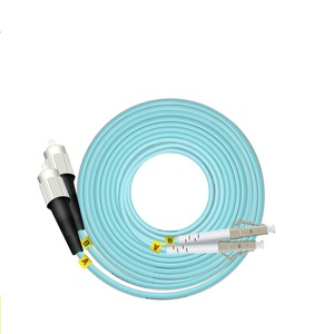 Image 4 - 15 m LC SC FC ST UPC OM3 Fiber Optic Patchkabel Duplex Jumper 2 Core Patchkabel Multimode 2,0mm Optische Faser Patchkabel