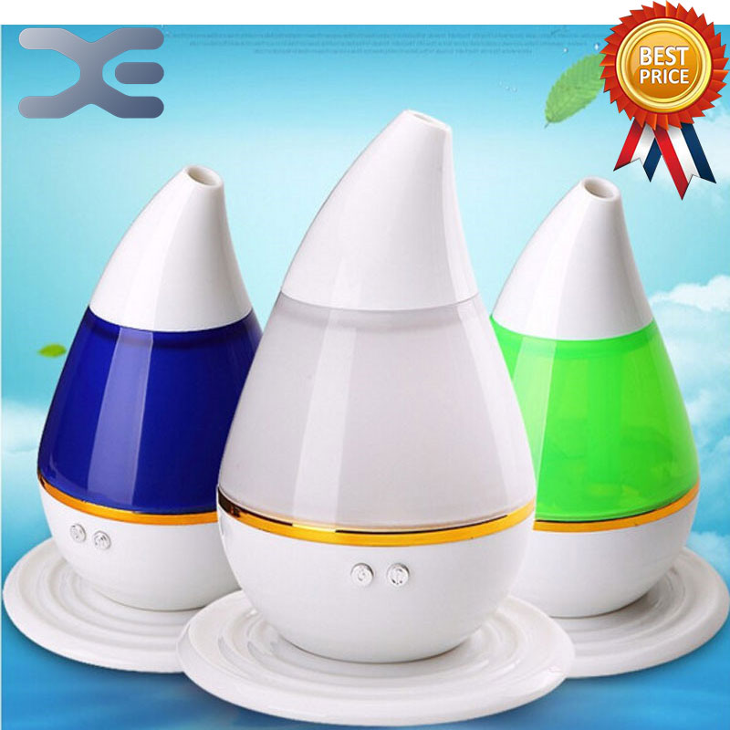 цена Colorful Water Drop Mini USB Aroma Humidifier Atomizer Car Humidifier Air Purifier