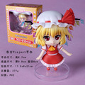 "Free Shipping Cute 4"" Nendoroid Touhou Project Flandre Scarlet PVC Action Figure Model Collection Toy #136 MNFG036"