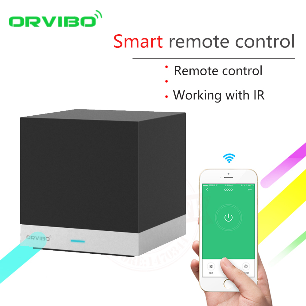 2017 Orvibo Smart Home Automation System WiFi IR Remote Controller Switch XiaoFang PK Allone Control by iOS Android Smartphone new xiaolei wifi remote smart home automation wifi ir rf universal intelligent remote control for iphone ios android ltech