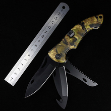 лучшая цена Hot Multifunction Knife Tactical Folding knives Outdoor Camping Survival Hunting Knife portable Pocket Compact Knives EDC Tool