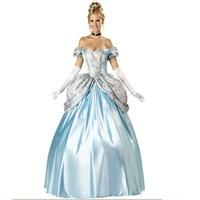 Sexy Cosplay Kostüm Karneval Schneewittchen Prinzessin Kostüm Halloween Frauen S-XL frauen elegante prinzessin kleid kostüm