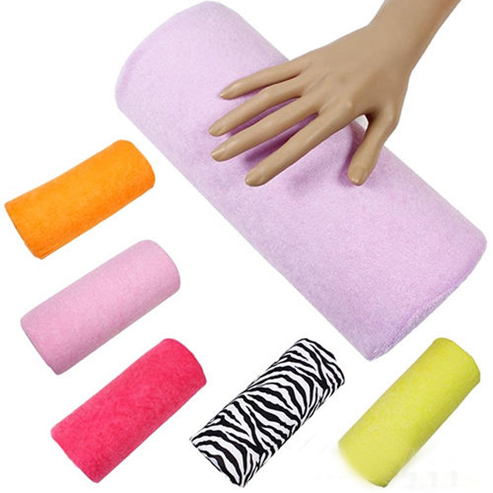Handauflagen Schönheit & Gesundheit Sonnig 1 Pc Frauen Maniküre Pflege Salon Halb Hand Kissen Rest Kissen Nail Art Design Weiche Spalte Hand Rest Nagel Werkzeuge