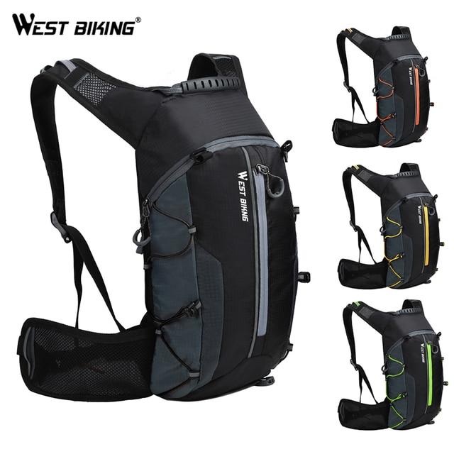 West Biking Bike Bag Breathable 10l Ultralight Portable Folding Bicycle Backpack Waterproof Cycling Hiking Water