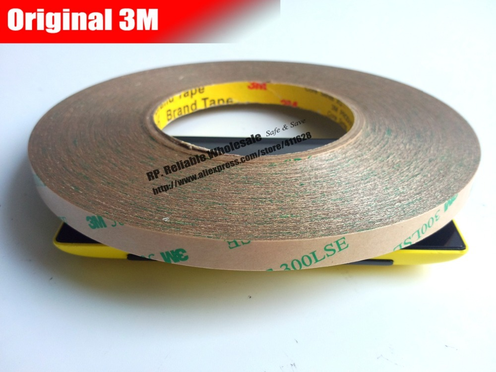 1x 12mm or (13mm/14mm)* 55M High Bond 3M 300LSE Transparent Acrylic Glue Sticky Tape, Phone Screen Mount, Wig Connect, Car Panel