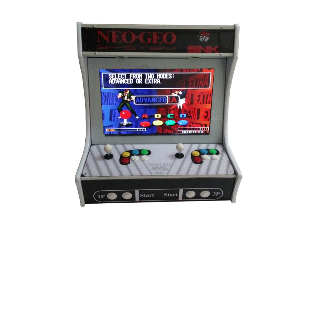 2100 in 1 VGA game board with 40 G HD, 22 inch LCD mini arcade game machine sanwa button and joystick use in video game console with multi games 520 in 1