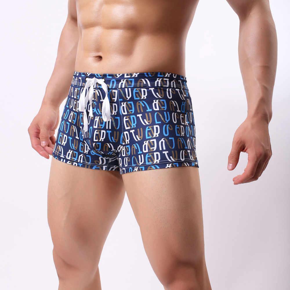 07407293ec ... New Mens Sexy Swimsuit Swimwear Men Swimming Shorts Men Briefs Beach  Shorts Sports Suits Surf Board ...