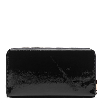 PART 1  LEATHER MIM WALLET WITH ROUND LOGO OR XO LOGO OR TURNLOCK WALLET CLUTCH ORGANIZE WALLET