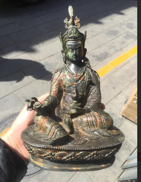 Do the old antique bronze  statue of   Buddhism sculpture decoration free shippingDo the old antique bronze  statue of   Buddhism sculpture decoration free shipping